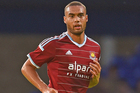 West Ham's Winston Reid is one of seven All Whites based in Europe. Photo / Getty Images