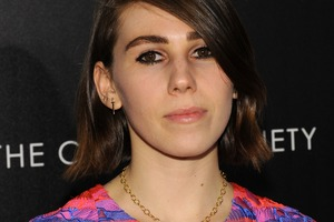 Zosia Mamet has opened up about her battle with an eating disorder. Photo/Getty