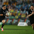 All Blacks Aaron Smith, left, and Dane Coles in action in the first Bledisloe Cup test in Sydney. Photo / Getty Images