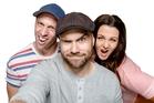 Fletch, Vaughan and Megan took over ZM's breakfast show in April.