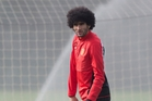Marouane Fellaini's move to United fulfilled a life-long dream for the Belgian player. Photo / AP