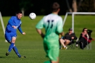 Belvedere Group Tauranga City United captain Sam O'Regan has been huge for the club this season. Photo / George Novak