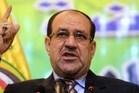 Iraqi Prime Minister Nuri al-Maliki. Photo / AFP