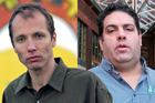 Nicky Hager's (left) new book includes exchanges by politicians and Cameron Slater. Photos / Getty, Doug Sherring