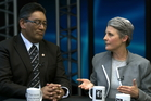 Hone Harawira and Laila Harre. Photo / NZ Herald