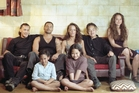 The Heke family in 'Once Were Warriors'.