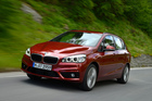 BMW launched the 2 Series Active Tourer 2-litre diesel in Austria. Photos / Supplied