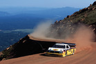 Rod Millen taking on the famous Pikes Peak. Photo / Supplied