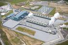 Te Mihi power station in Wairakei has capacity to power 160,000 homes.