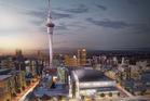 Sky City new concept designs for its Auckland international convention centre