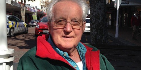 """""""I personally think the timing is just a ploy to sell his book. It's marketing."""" - Russell Hayward, 72, Katikati"""