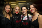 From left: Contestants: Vikki Moursellas, Kelly du Toit, Megan Dobson and Helena Moursellas. Photo / Michael Craig