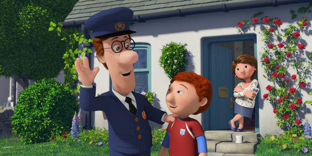 The Postman Pat story is colourful, but takes a rather dark turn.