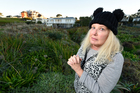 Residents are upset about the plants on the sand dunes being sprayed and killed by the council. Photo / George Novak