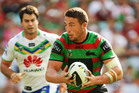 Sam Burgess of the Rabbitohs. Photo / Getty Images