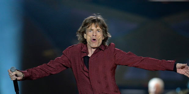 Rolling Stones frontman Mick Jagger on stage in Stockholm last month (AP).