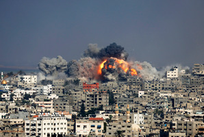 If Hamas had not fired missiles into Israel, the Jewish state would not have responded. Photo / AP