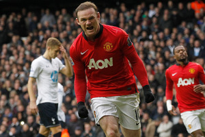 Wayne Rooney has been named captain of Manchester United by new manager Louis van Gaal. Photo / AP.