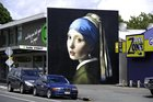 Public art gives the mundane, everyday world a heartbeat, declaring how beautiful life is. Pictured is Owen Dippie's Girl with a Pearl Earring. Photo / George Novak