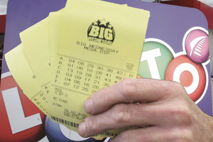 The winning ticket was sold at the Ashburton Countdown Lotto. Photo / APN