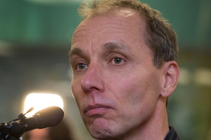 Nicky Hager's latest book Dirty Politics has been tweeted about extensively. Photo / Mark Mitchell