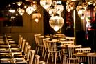Interior of new Indian restaurant Cassia. Photo / Babiche Martens.