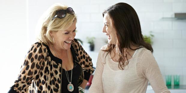 Robyn Malcolm takes on a transtasman bogan mum role.
