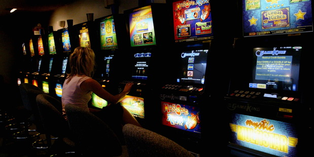 New research shows poor communities are missing out on pokie funding. Photo / Duncan Brown