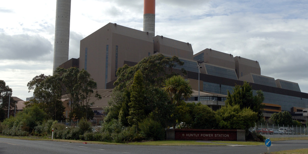 Huntly Thermal Power Station. Photo / NZPA