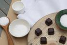 Bennett's dark chocolate salted caramels with real Mangawhai sea salt. Photo / Supplied.