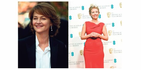 Charlotte Rampling and Emma Thompson. Photos / AP Images, Getty Images.