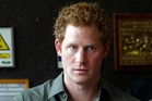 Prince Harry said he was inspired by the  amputees. Photo / AP