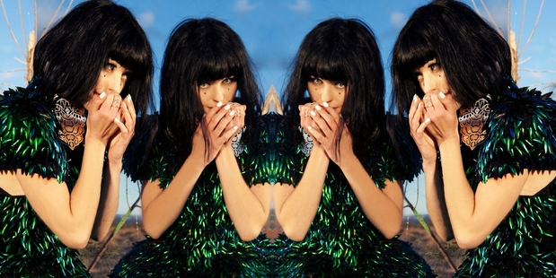 "Kimbra says interacting visuals and music are ""ways we can make music feel valuable again""."