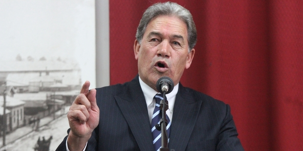 Winston Peters' poor excuse of a joke is a cynical ploy. Photo / APN