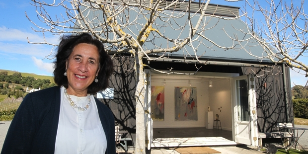 END OF AN ERA: Bronwynne Thorp is closing her Black Barn Gallery in Havelock North. PHOTO/ DUNCAN BROWN HBT14280701