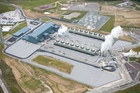 OPENING: An aerial shot of the new Te Mihi power station. PHOTO/SUPPLIED 130814MIHI