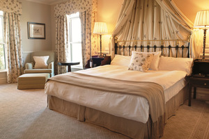 The resort's spacious bedrooms are luxuriously appointed, with every detail designed to spoil and pamper guests. Photo / Supplied