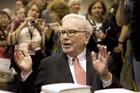 Warren Buffett - he's got $50 billion to spend. Photo / AP