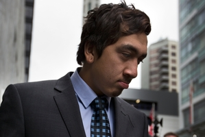 Korotangi Paki leaving Auckland District Court in May. Photo / Brett Phibbs