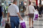 Core retail spending last month was higher than in June. Photo / Natalie Slade