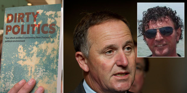 John Key says he's backing Jason Ede (inset).