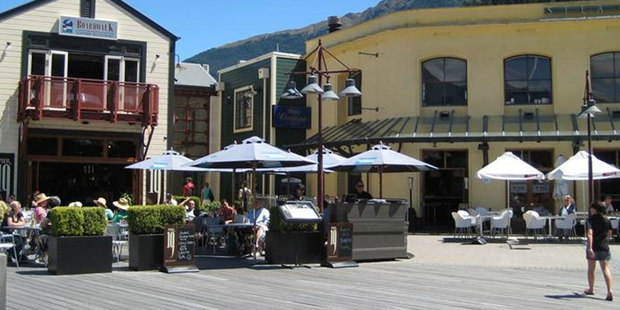 A view of the Steamer Wharf complex in Queenstown. Photo / ODT