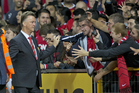 New Manchester United manager Louis Van Gaal. Photo / AP