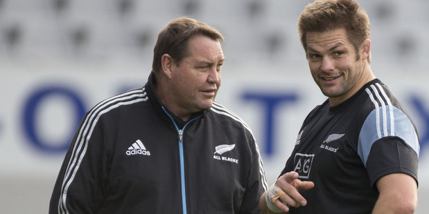 "All Blacks coach Steve Hansen is ""dumbfounded"" by Ewen McKenzie's selection of Kurtley Beale. Photo /  Peter Meecham"