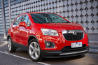 The 2015 model Holden Trax will be available with a 1.4-litre turbocharged engine.