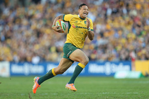 Israel Folau of the Wallabies. Photo / Getty Images