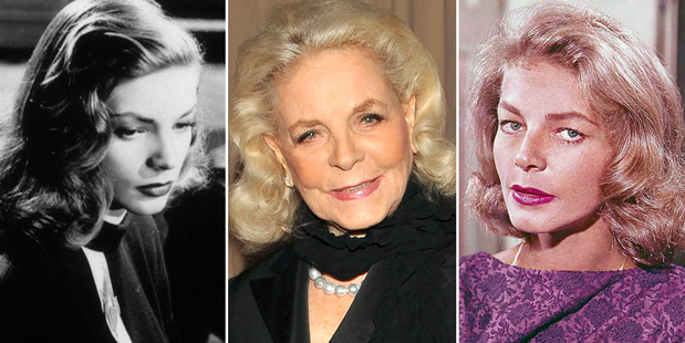 Lauren Bacall has died at the age of 89.