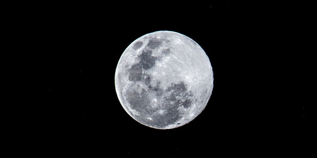 It will be another 20 years before the moon comes as close as it has in the current cycle. Photo / Andy Morris
