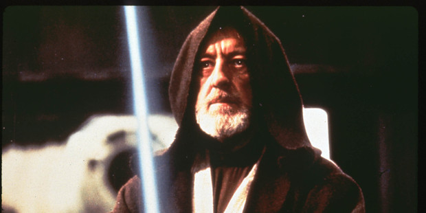 Obi-Wan Kenobi in Star Wars. In central banking, just saying something can be enough to make it happen - like a Jedi mind trick.