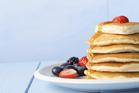 Using seltzer water instead of milk in pancakes, tempura batter and even scrambled eggs gives lighter results. Photo / Thinkstock